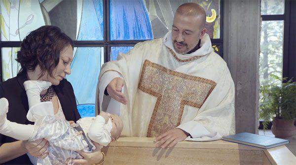 Insieme ai sacerdoti: fino a Natale lo spot tv